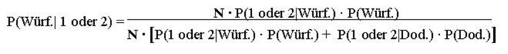Bayes Formel 2