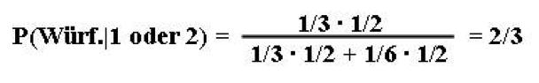 Bayes Formel 3